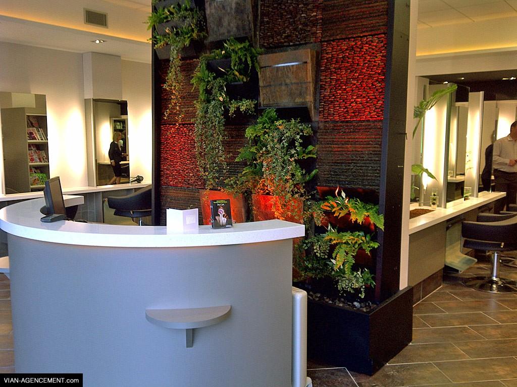 Vian agencement agencement de salon de coiffure - Agencement salon de coiffure mobilier ...